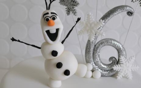 Disney Olaf Frozen Cake