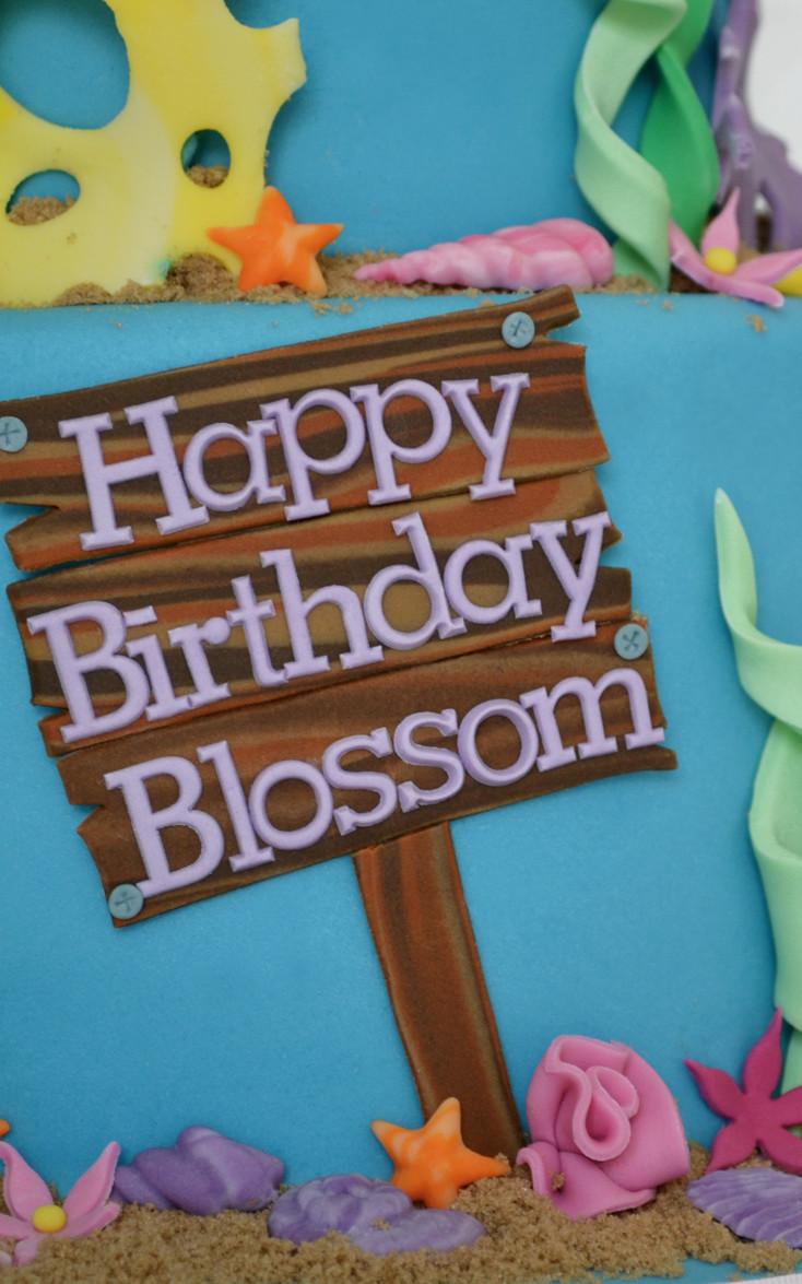 Surprising Disney Ariel Cake Girls Birthday Bespoke Cakes For All Occasions Funny Birthday Cards Online Drosicarndamsfinfo