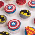 cupcake tower super hero
