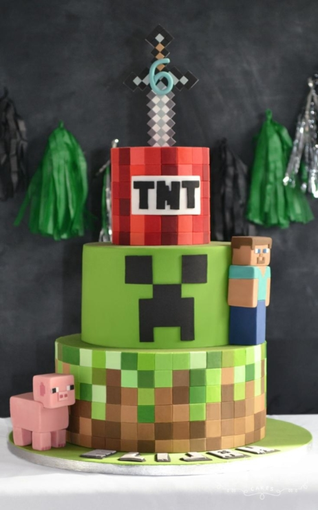 minecraft wedding cake celebration cakes cupcakes amp wedding cakes custom design 17387
