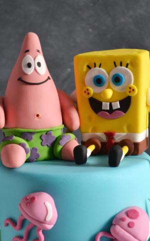 Spongebob girls birthday cakes