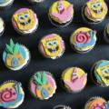 spongebob pineapple cupcake