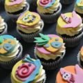 spongebob pineapple cupcake 2