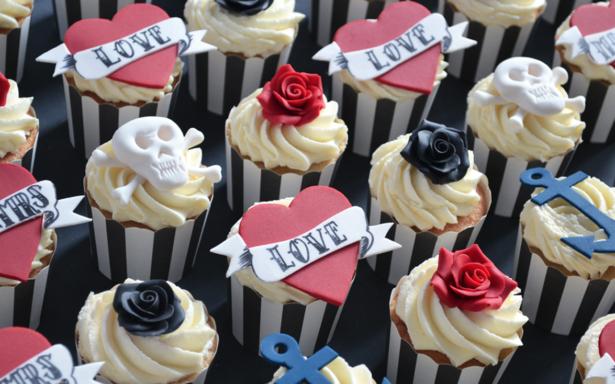 Rockabilly Cupcakes