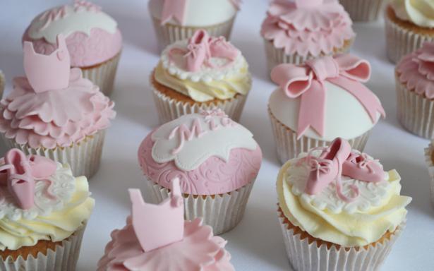 Ballerina Cakes cupcakes