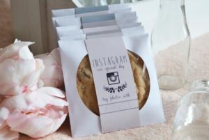 #Wedding Instagram Wedding Cookie