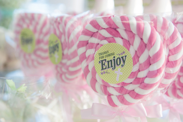 giant personalized lollipop favour