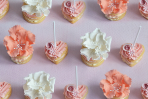 Floral Wedding Cookie favour