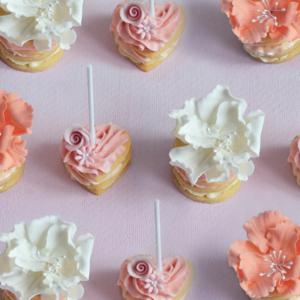 Floral Wedding Cookie favour