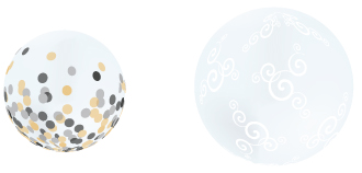 deco bubble balloon