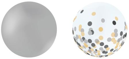 giant round balloons