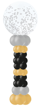 giant round balloon pillar