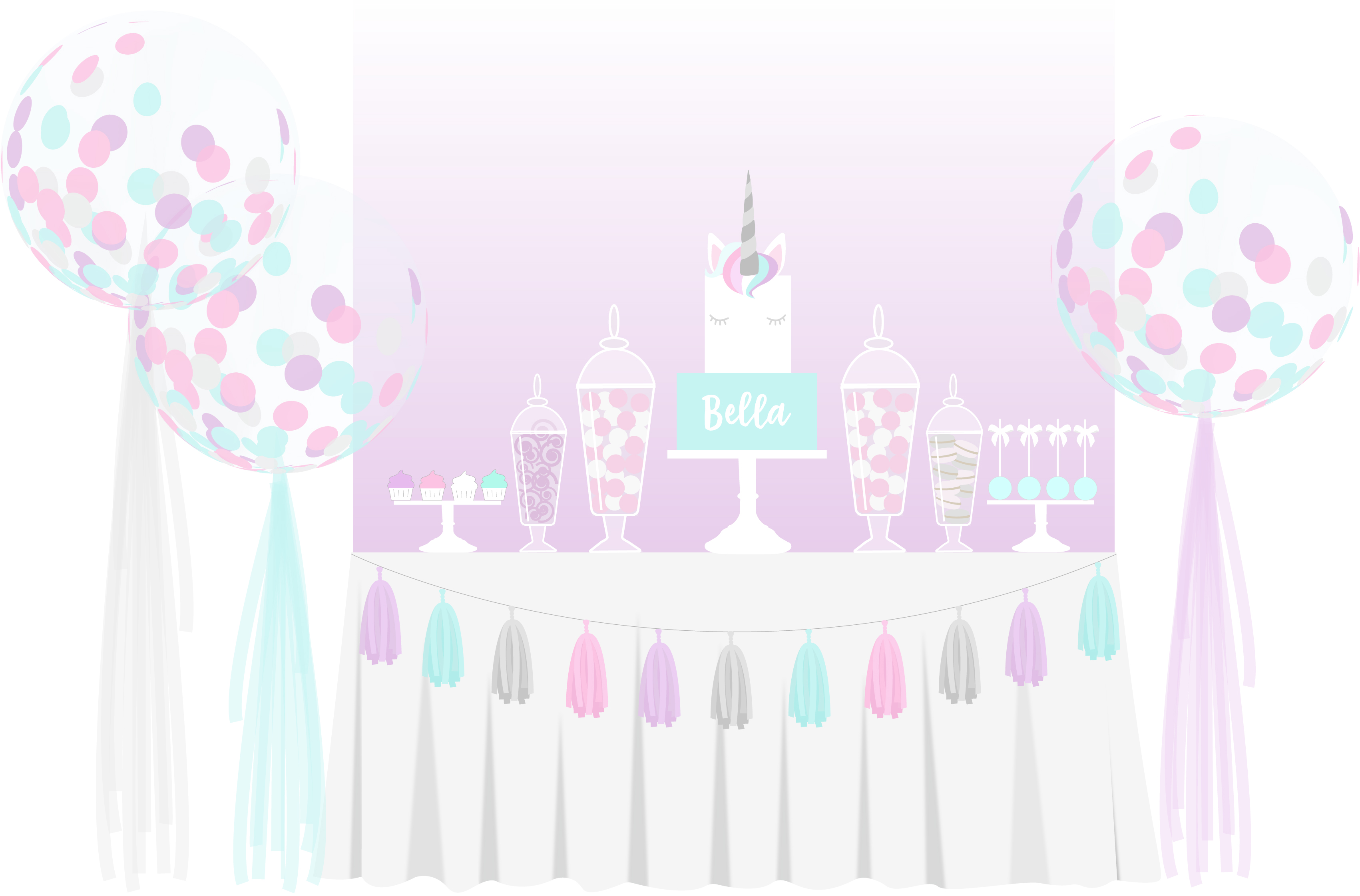 Balloon & Cake Packages