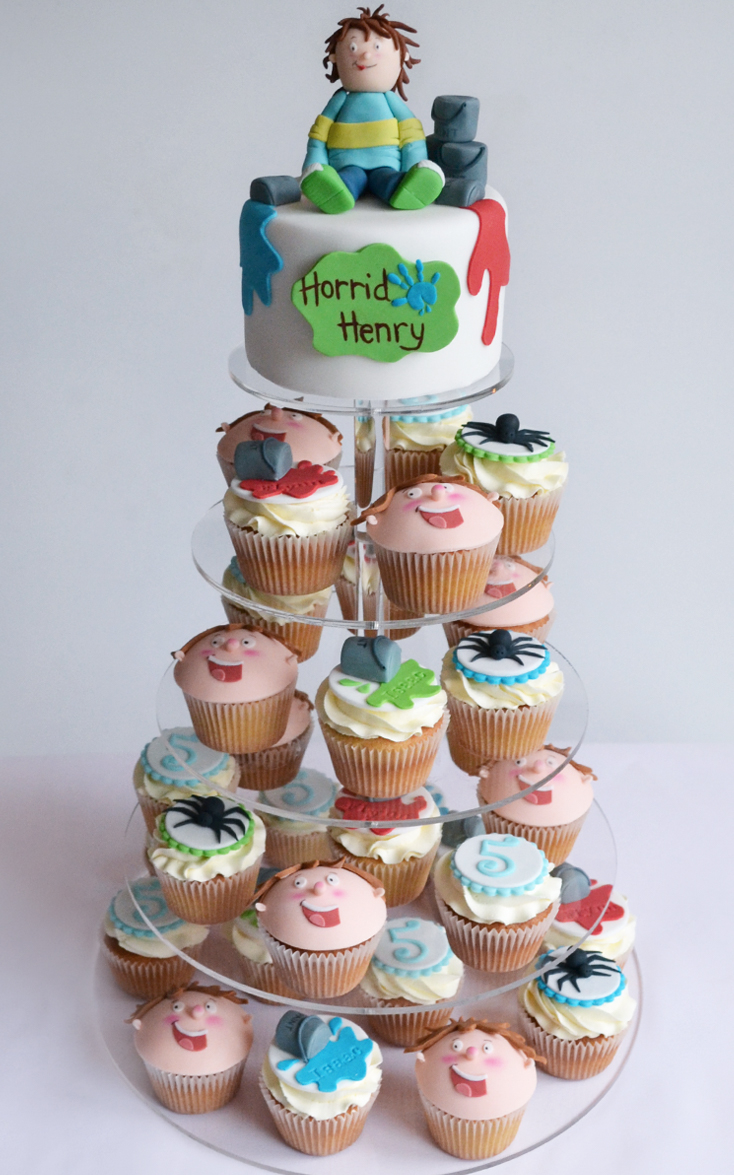 Horrid Henry Cakes Cupcakes