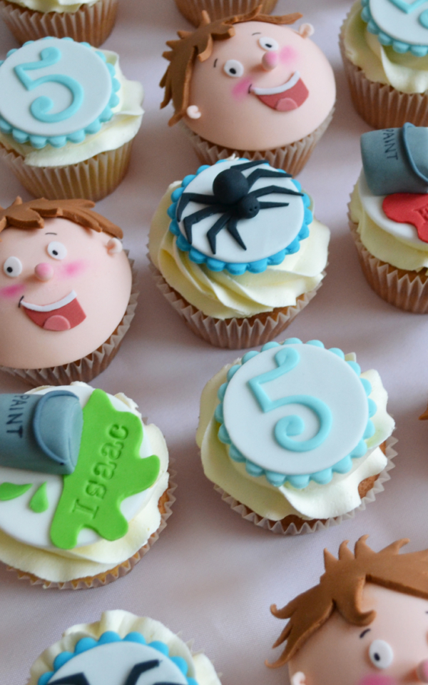 Horrid Henry Cake Cupcake Tower