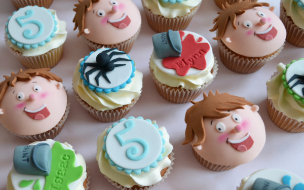 Horrid Henry Twins Cakes cupcakess