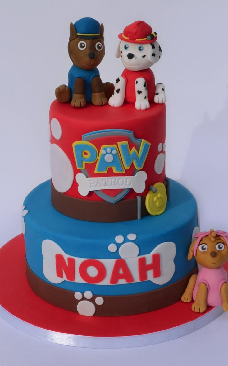Paw Patrol Cake Cupcakes amp Balloons Cake Maker