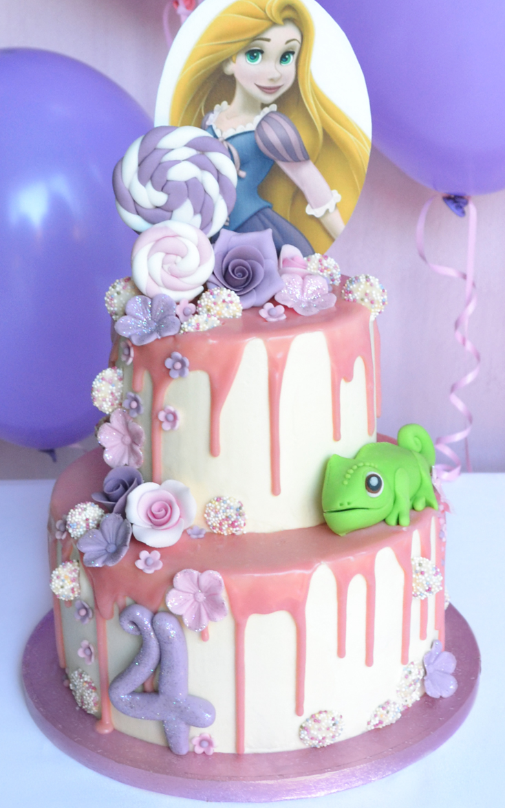 How To Make A Princess Rapunzel Cake