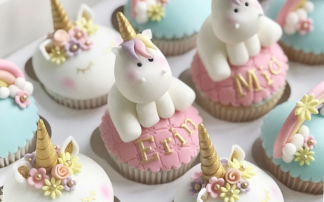 unicorn cake cupcakes girls birthday