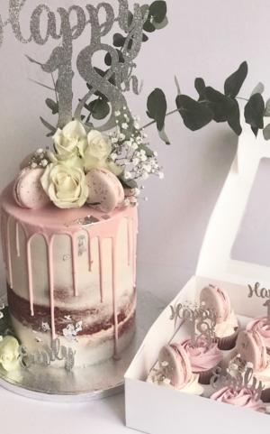 18th birthday cake
