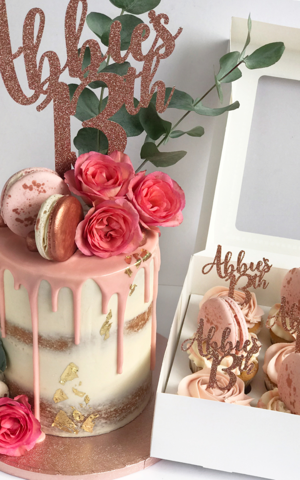 Incredible 13Th Birthday Cakes Personalised Cupcakes Cupcakes St Helens Funny Birthday Cards Online Kookostrdamsfinfo
