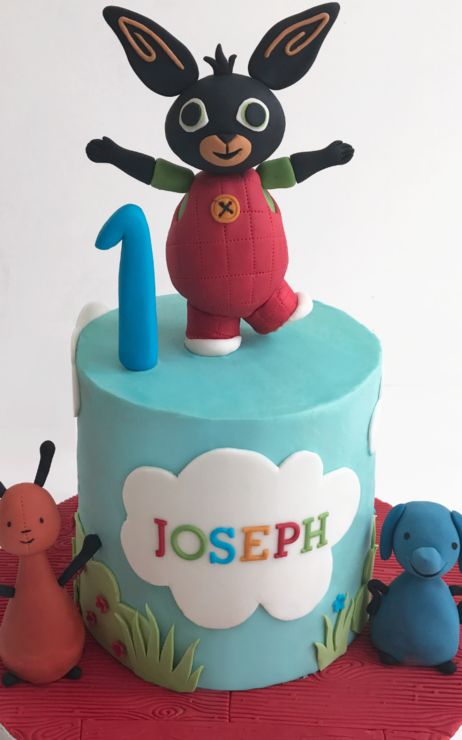 bing birthday cake st helens merseyside