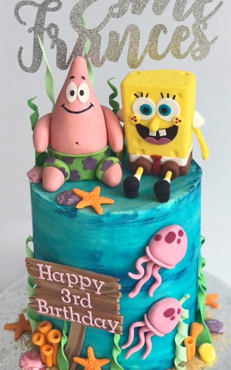 Spongebob Birthday Cake spongebob square pants cake