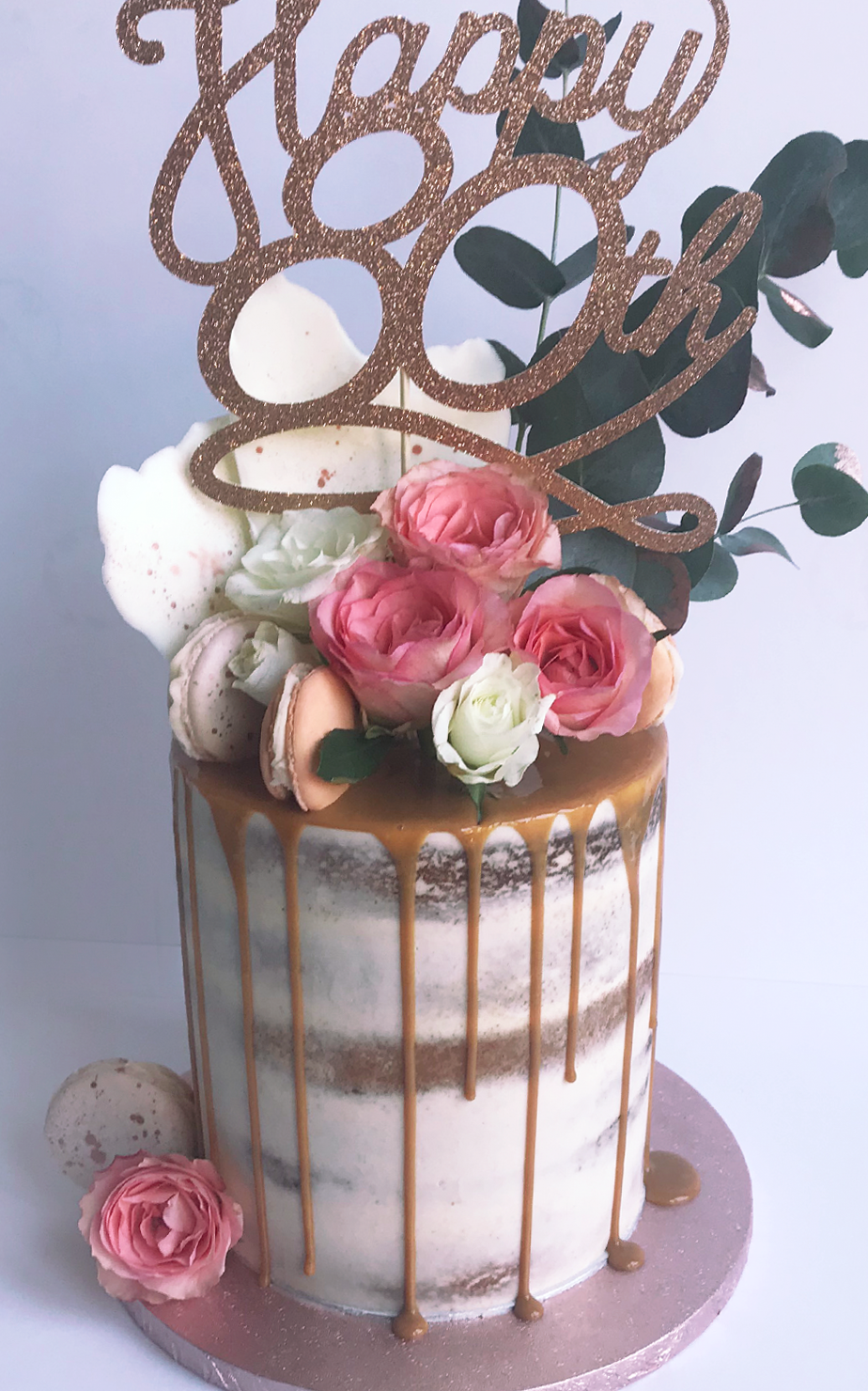 80th Birthday Cake High End Luxury Celebration Cakes