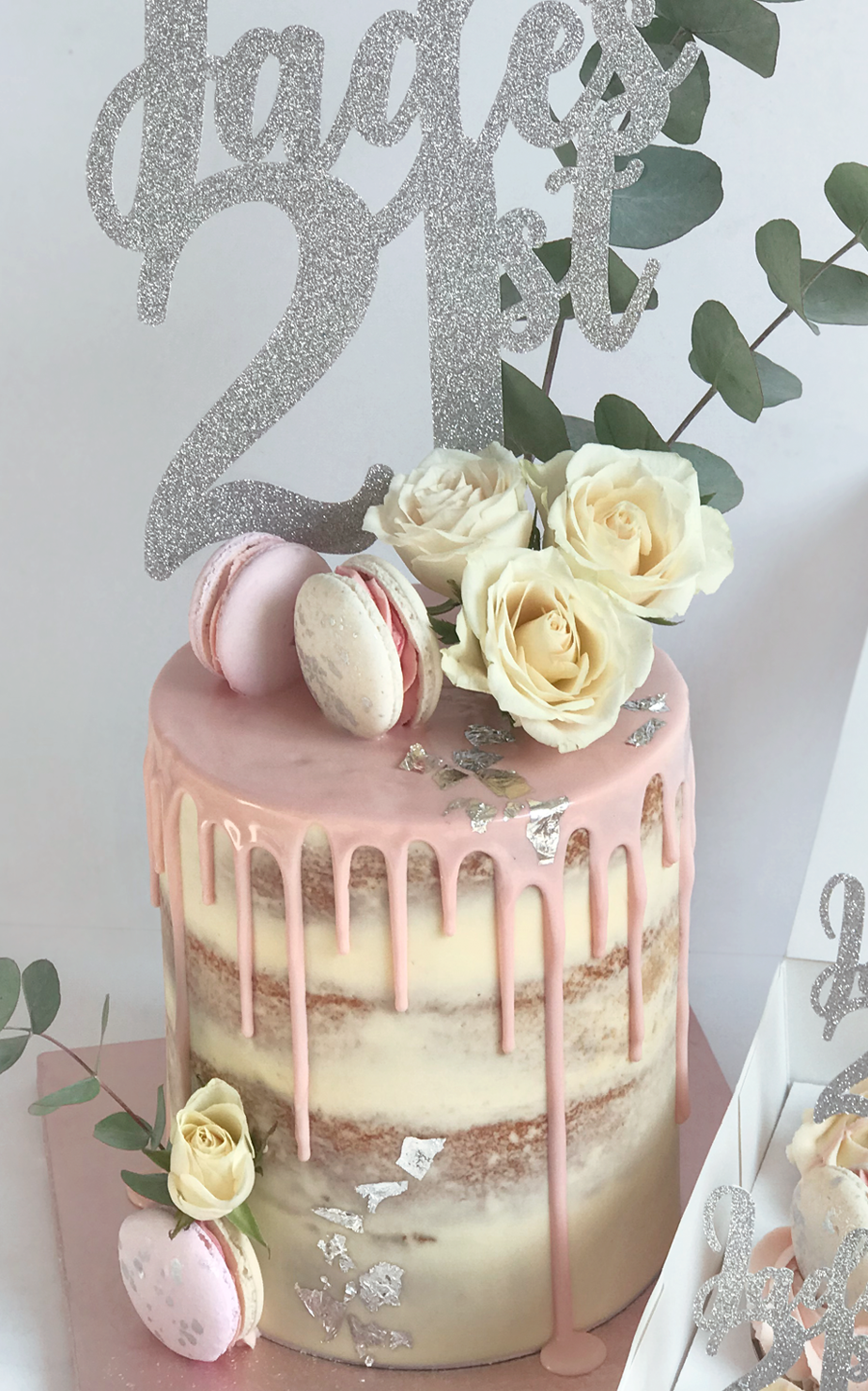 Semi Naked Cake, Luxury Cakes - Antonias Cakes, Cake -3532